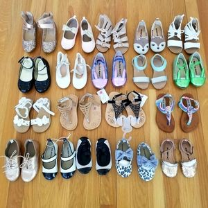 Other - 🎈BUNDLE 19 Pairs! Girls Shoes & Summer Sandals
